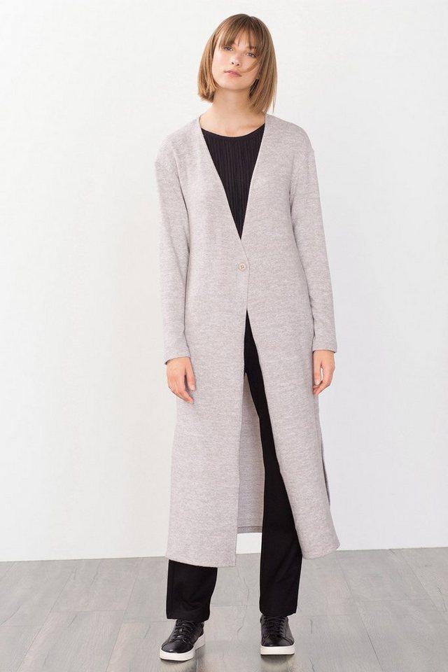 EDC Super softer Long Cardigan in LIGHT GREY