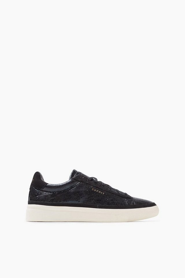 ESPRIT CASUAL Lack Trend Sneaker in BLACK
