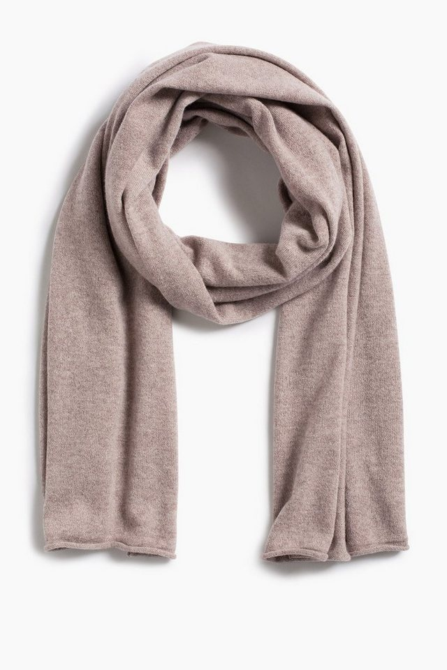 ESPRIT CASUAL Kaschmir Feinstrick-Schal in LIGHT TAUPE