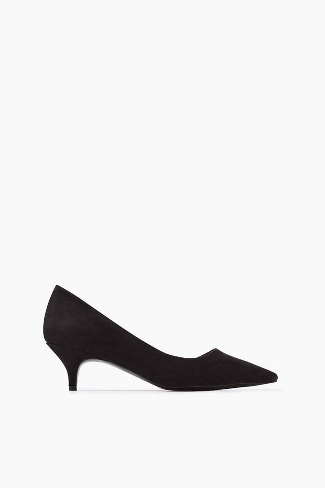 ESPRIT CASUAL Velours Fashion Pumps in BLACK
