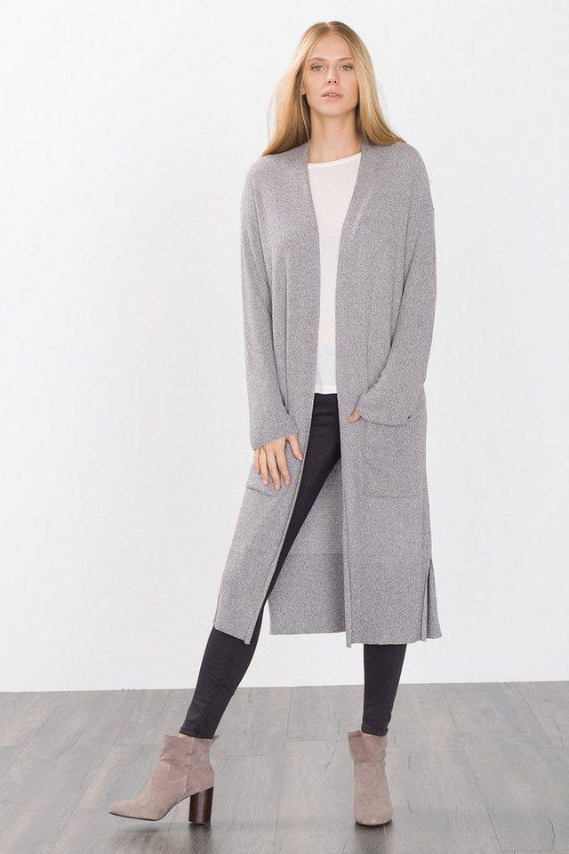 ESPRIT CASUAL Fashion Long Cardigan in GREY