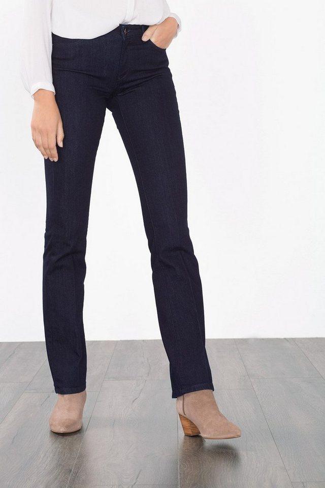 ESPRIT COLLECTION 5-Pocket Jeans aus Stretch Denim in BLUE RINSE