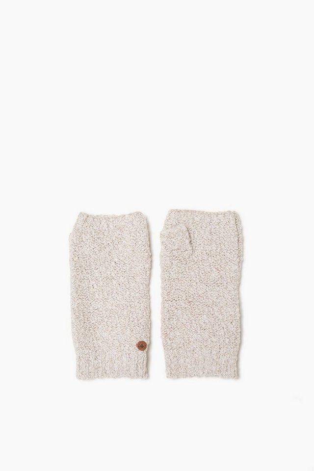 EDC Fingerlose Handschuhe mit Wolle in ICE