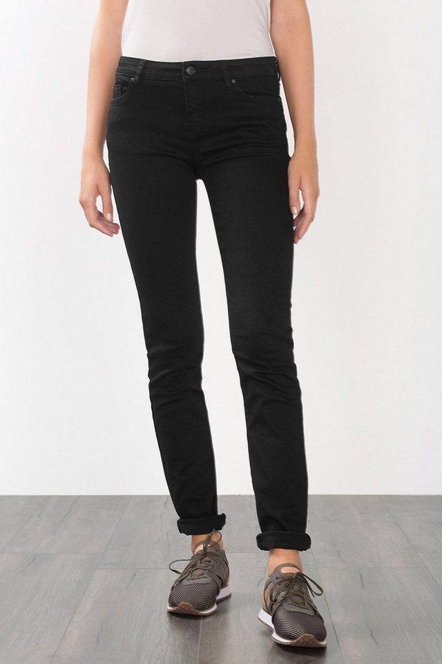 ESPRIT CASUAL Five-Pocket-Hose aus Baumwoll-Stretch in BLACK