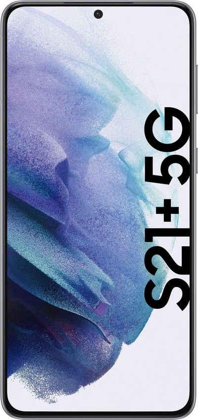 Samsung Galaxy S21+ 5G Smartphone (16,95 cm/6,7 Zoll, 128 GB Speicherplatz, 12 MP Kamera, 3 Jahre Garantie)