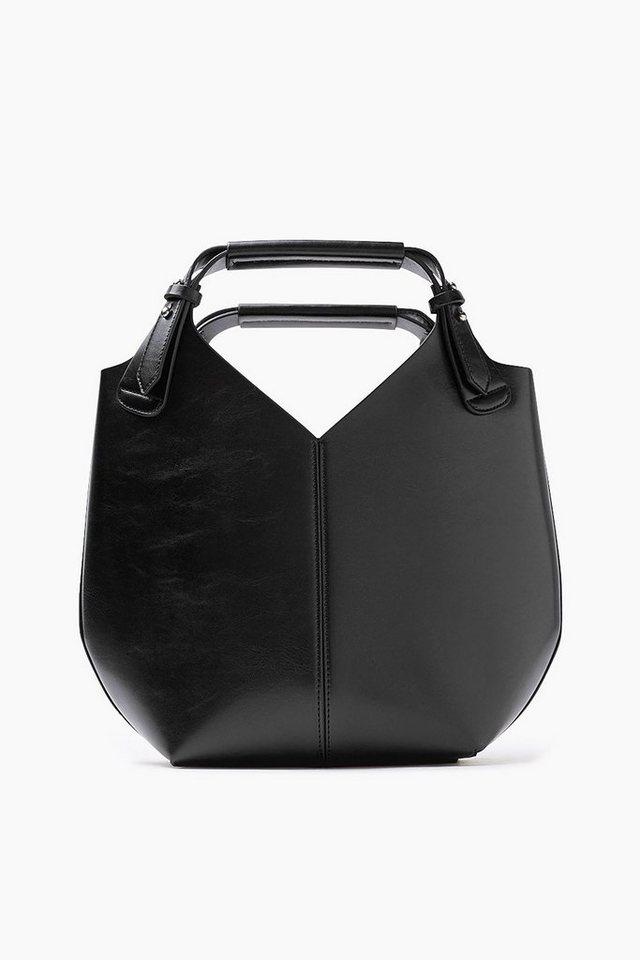 ESPRIT CASUAL City Bag mit herausnehmbarer Innentasche in BLACK
