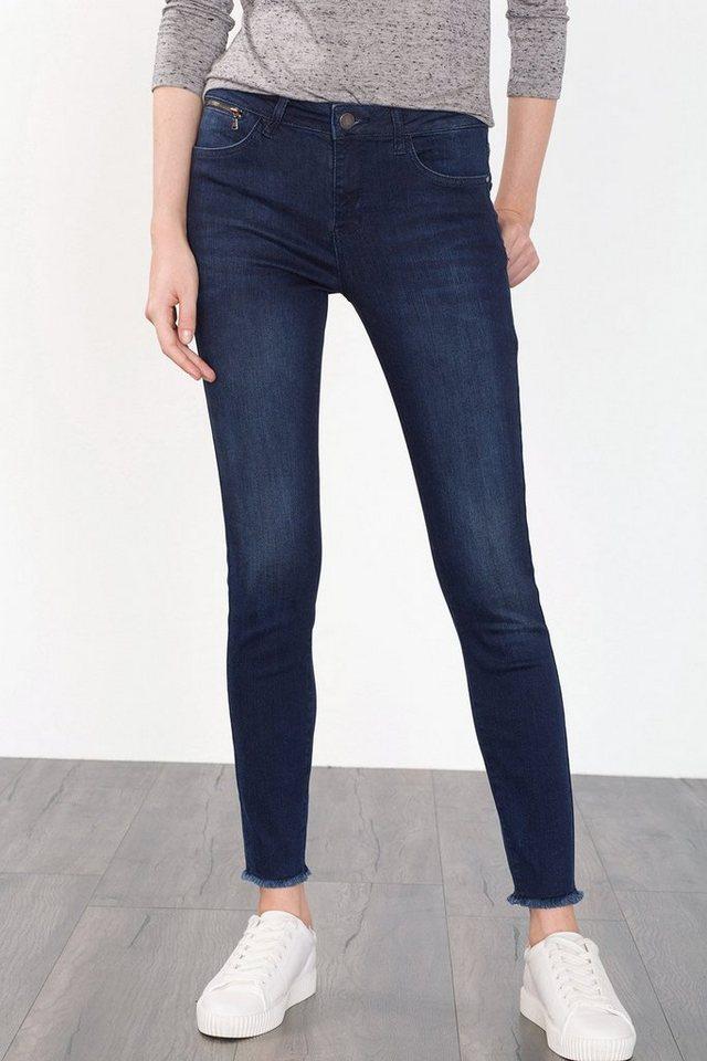 ESPRIT CASUAL Baumwoll-Stretch Fashion Denim in BLUE DARK WASHED