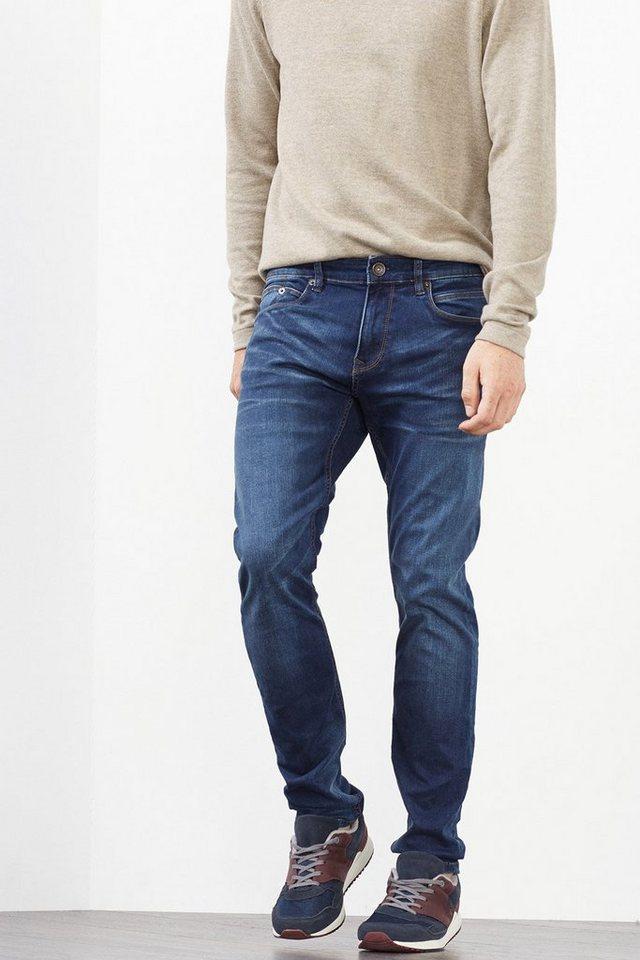 ESPRIT CASUAL Stretch-Jeans aus Dynamic Denim in BLUE MEDIUM WASHED