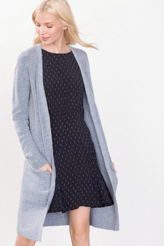 ESPRIT CASUAL Long Fashion Cardigan in LIGHT BRIGHT BLUE