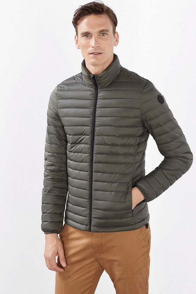 ESPRIT COLLECTION Federleichte Daunenjacke in MEDIUM GREY