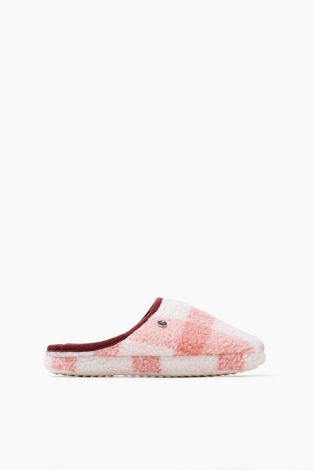 ESPRIT CASUAL Teddy Home Slipper in PINK