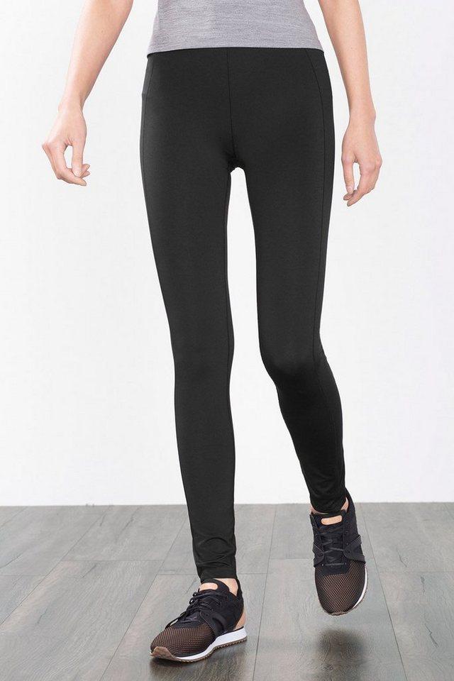 ESPRIT Funktions Jersey Sport Tights mit Zippfach in BLACK