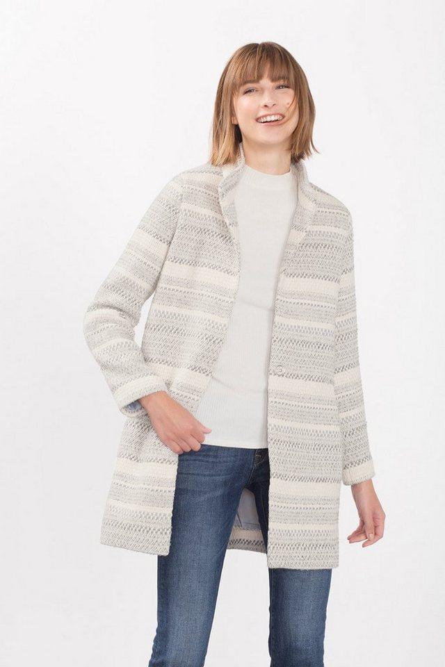 ESPRIT CASUAL Indoor Mantel aus weichem Baumwoll-Mix in OFF WHITE