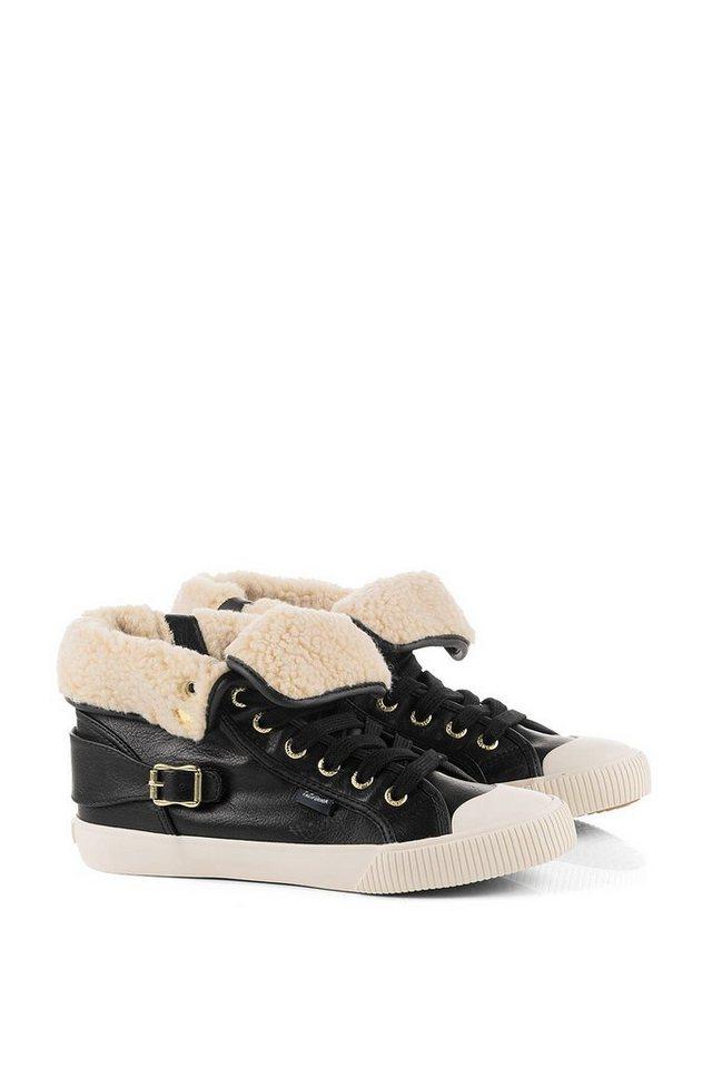 ESPRIT Sneaker-Bootie mit Umschlag in BLACK