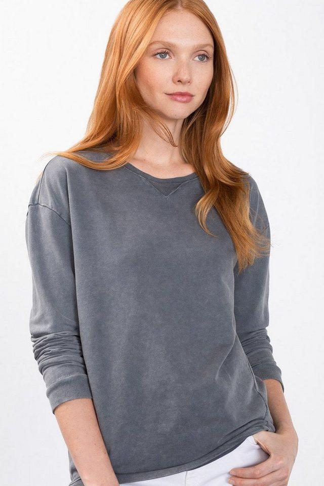 ESPRIT CASUAL Leichtes Sweaty aus 100% Baumwolle in MEDIUM GREY