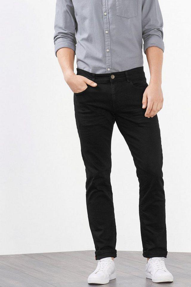 ESPRIT CASUAL 5-Pocket aus schwarzem Stretch-Denim in BLACK