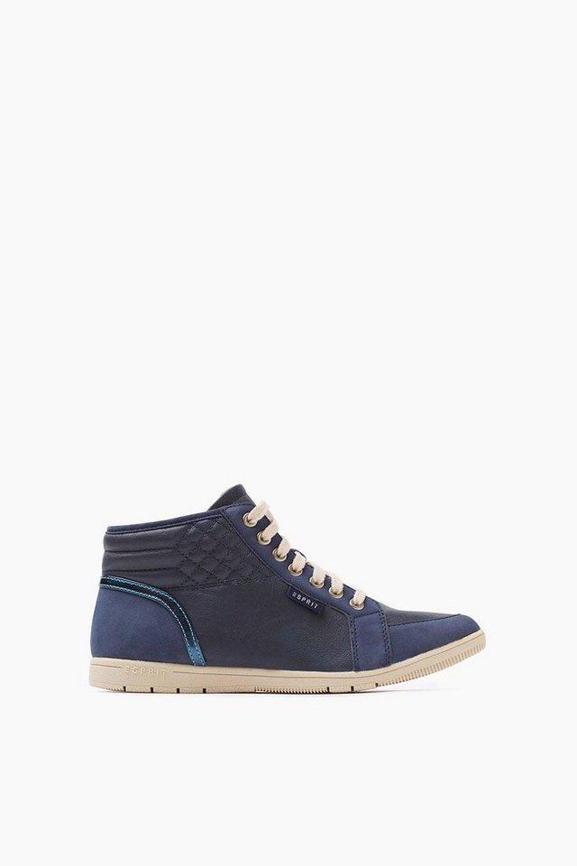 ESPRIT CASUAL Gefütterter High Top Sneaker in BLUE