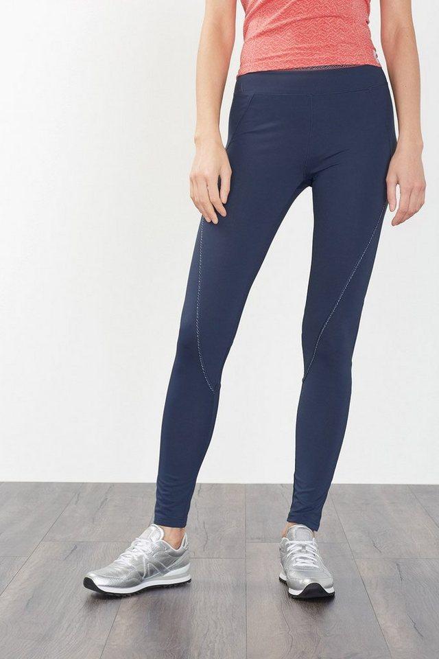 ESPRIT Funktions Jersey Sport Hose mit Steckfach in NAVY
