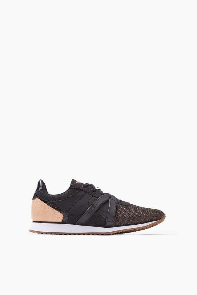 ESPRIT CASUAL Trend-Sneaker aus Textil in BLACK