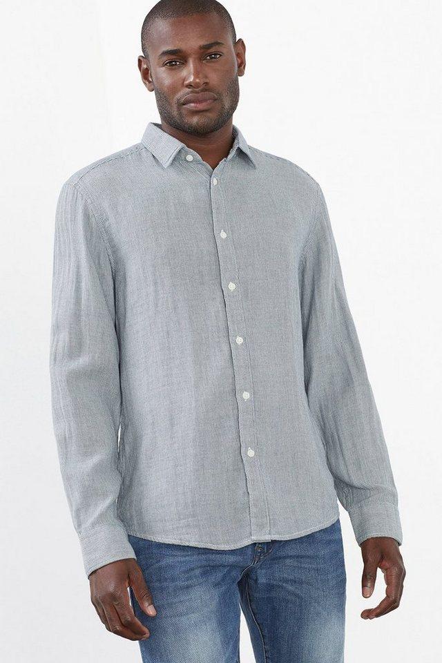 ESPRIT CASUAL Double-Face Streifenhemd aus Baumwolle in LIGHT BLUE LAVENDER