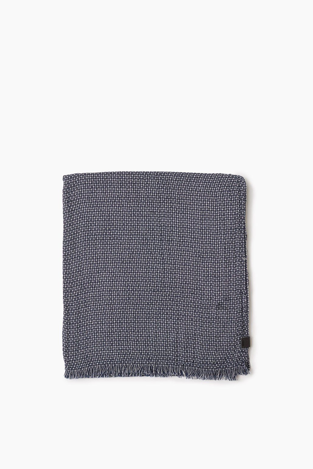 ESPRIT CASUAL Weicher Baumwoll Webschal mit Muster