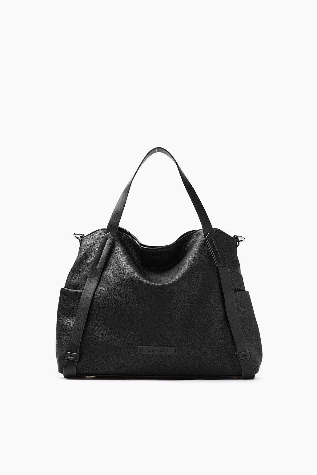 ESPRIT CASUAL Softe City Bag in Lederoptik