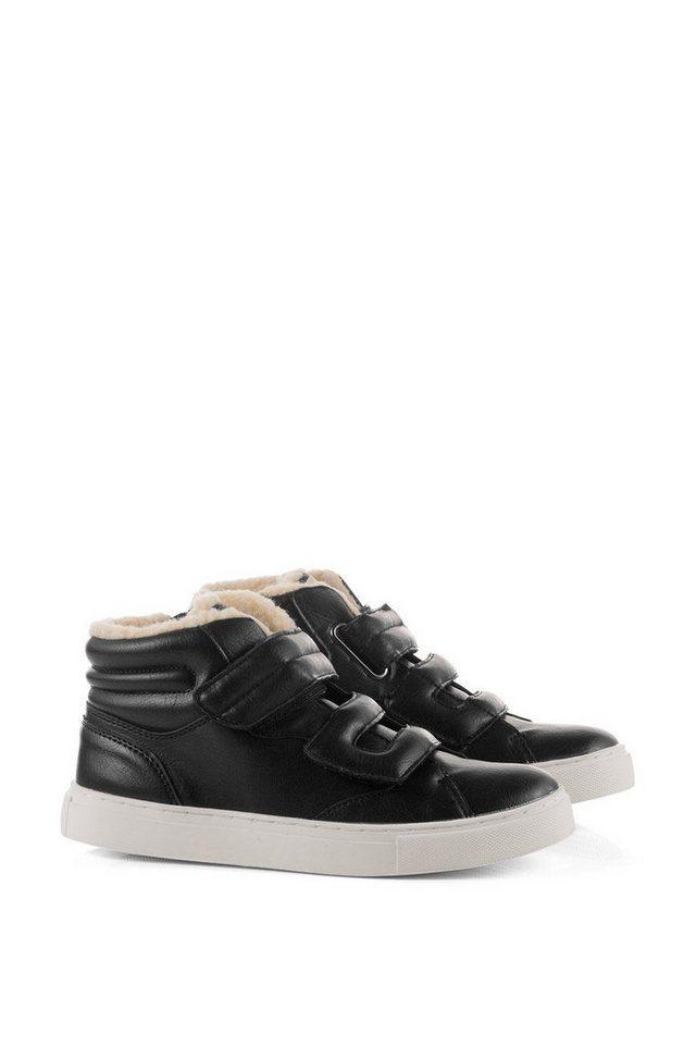 ESPRIT Sneaker Bootie mit Teddy-Futter in BLACK