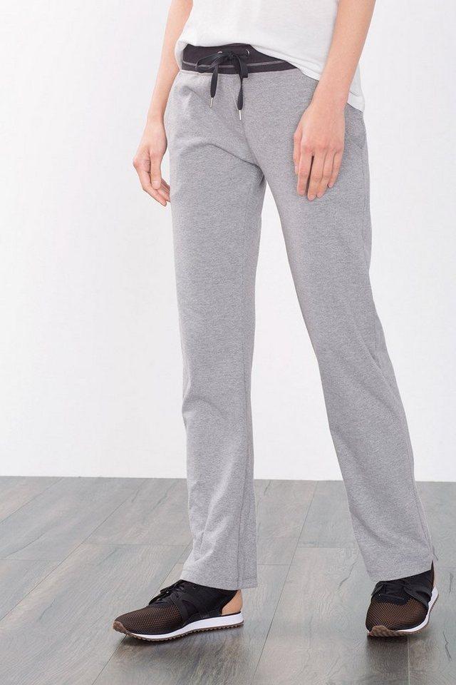 ESPRIT Jersey Sport Hose aus Baumwoll Stretch in MEDIUM GREY