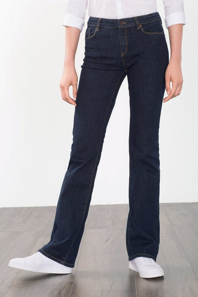 ESPRIT CASUAL Bootcut-Denim mit hohem Stretchanteil in BLUE RINSE