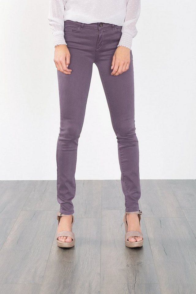 ESPRIT COLLECTION 4-way-Stretch Shaping Jeans in DARK MAUVE