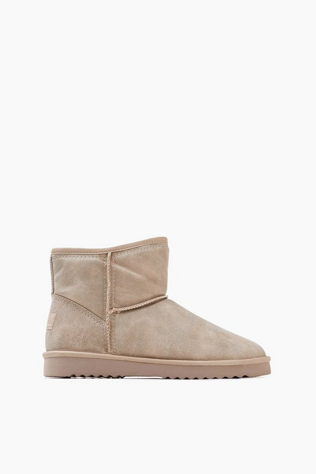 ESPRIT CASUAL Soft Bootie mit Webfell-Futter in LIGHT TAUPE