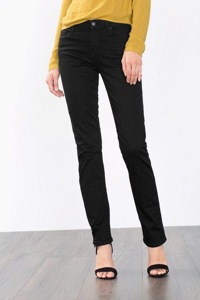ESPRIT CASUAL Stretch-Jeans aus tiefschwarzem Denim in BLACK