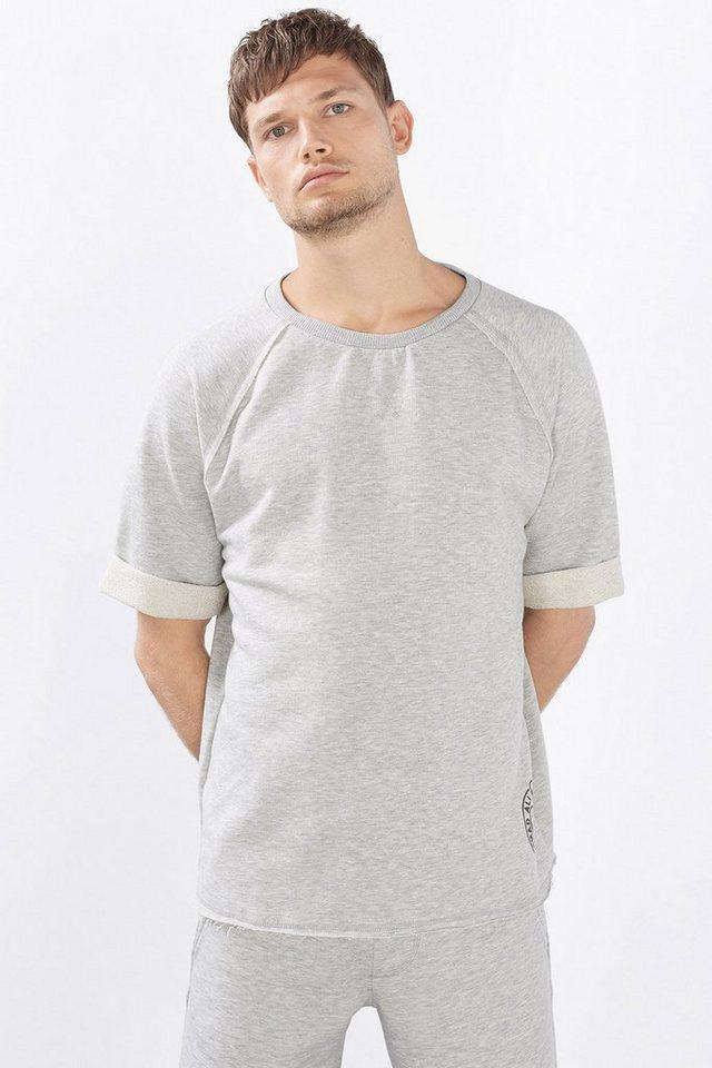 ESPRIT CASUAL Sweatshirt mit großem Muhammad Ali Print in MEDIUM GREY