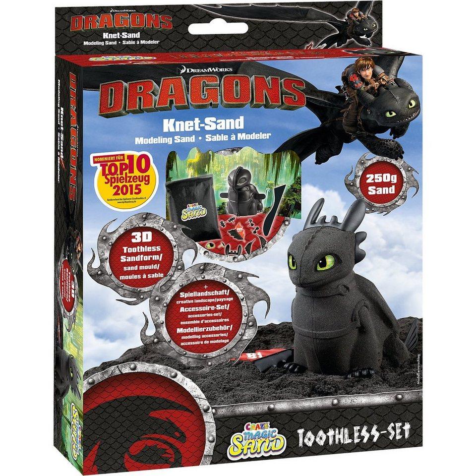 Craze Magic Sand Dragons Ohnezahn Set Kaufen Otto