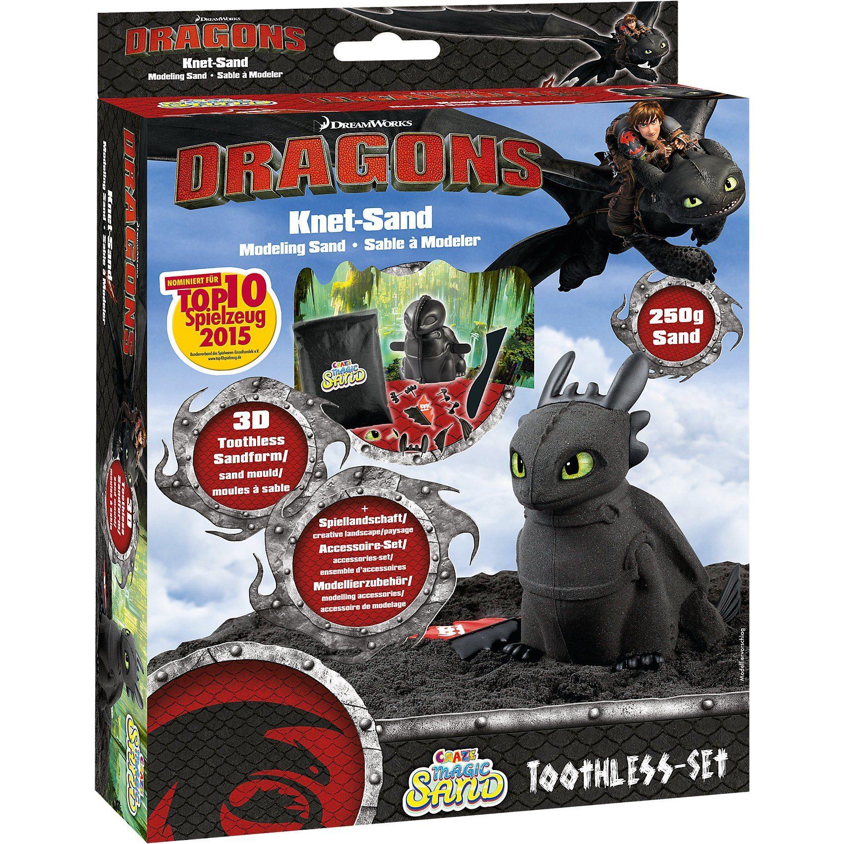 CRAZE Magic Sand Dragons - Ohnezahn Set