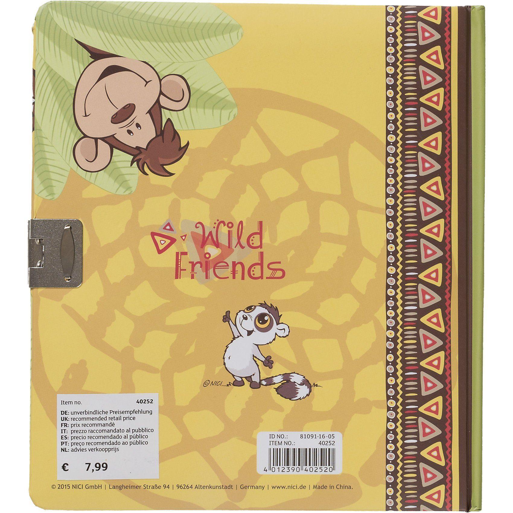 NICI Tagebuch Wild Friends