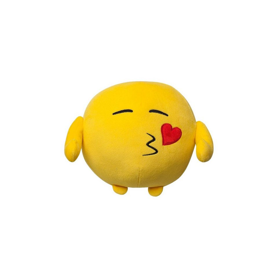 BOTI Imoji Plüschfigur in Ballform Heart Kiss, 18cm