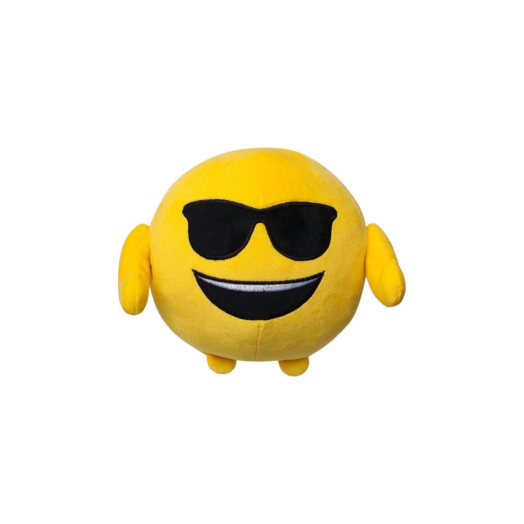 BOTI Imoji Plüschfigur in Ballform Cool, 18cm