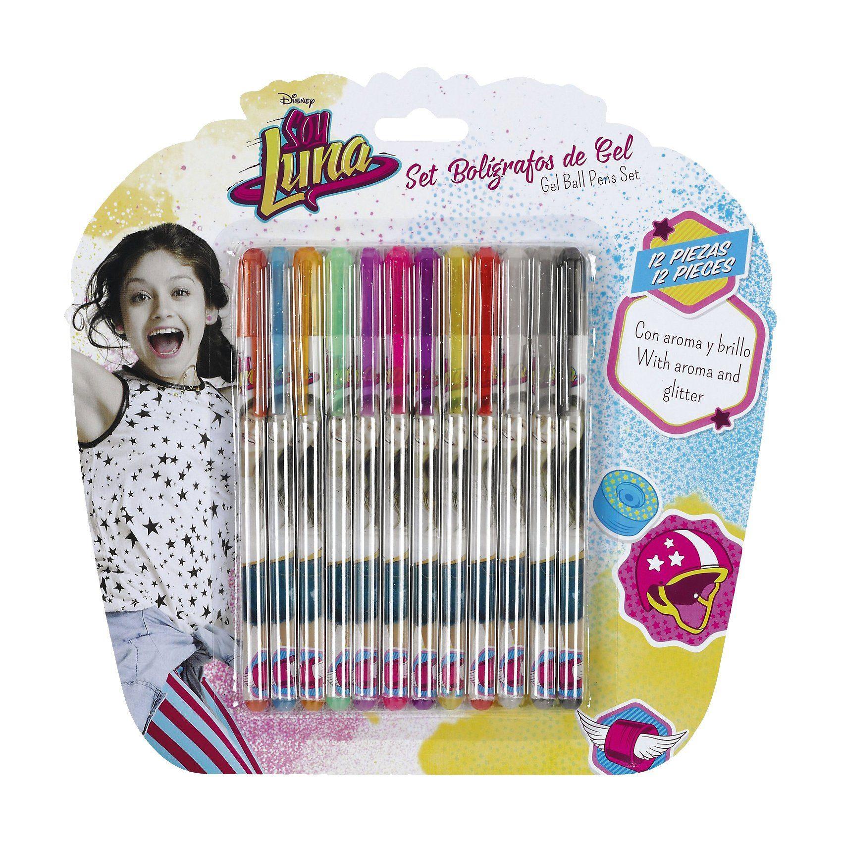 safta Gelstifte Soy Luna, 12 Farben
