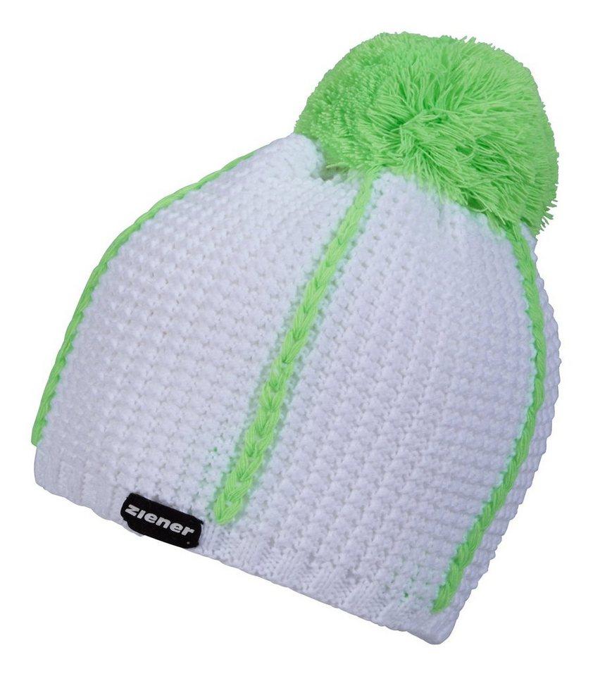 Ziener Mütze »IGUR hat« in white