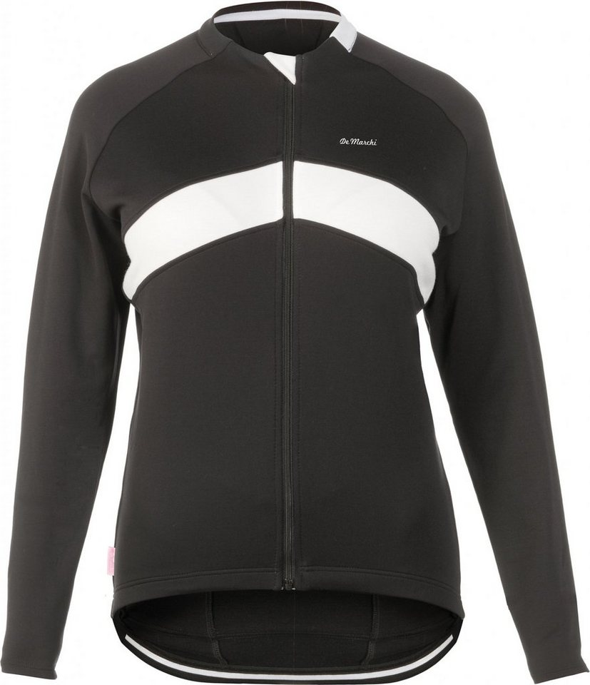 De Marchi Radtrikot »Winter Jersey Men« in schwarz