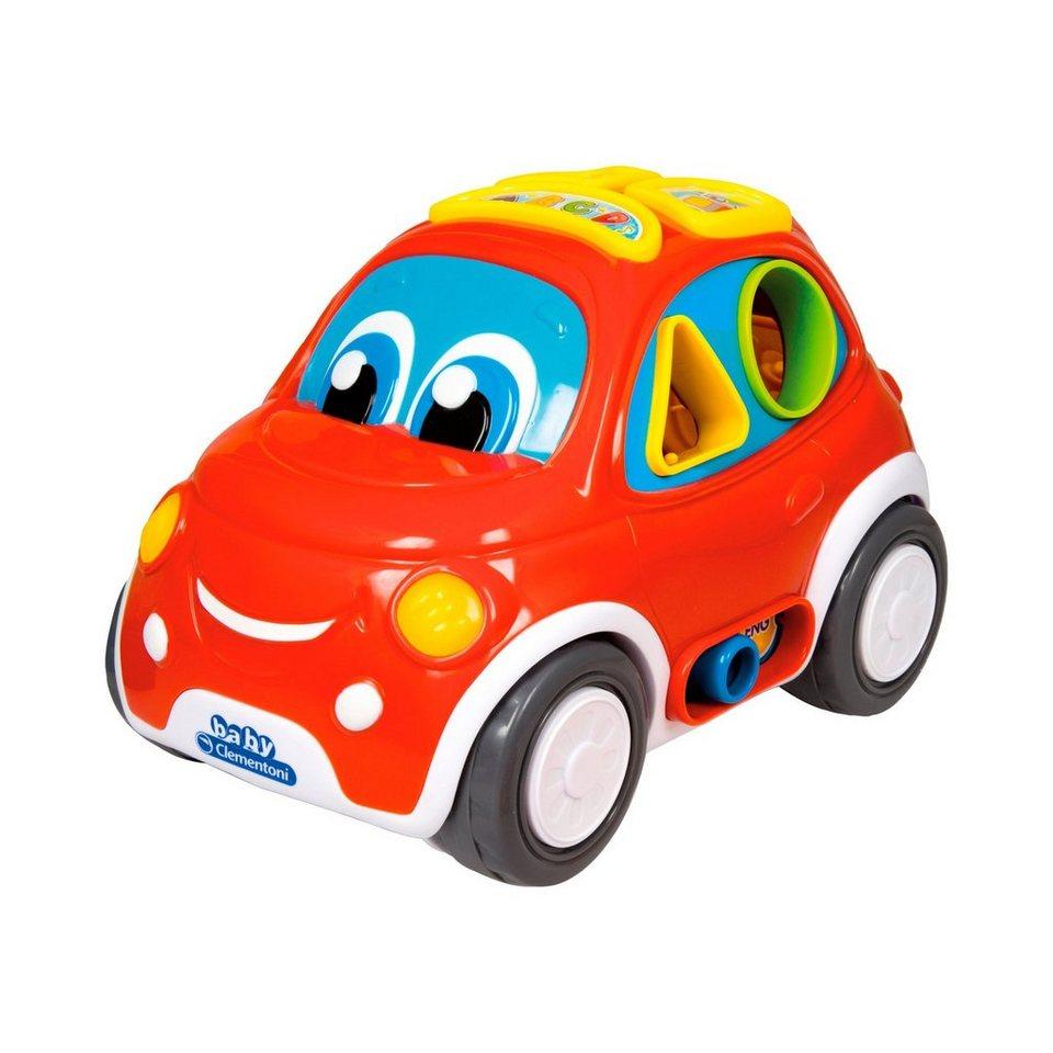 CLEMENTONI Interaktives Steckspiel Auto in rot