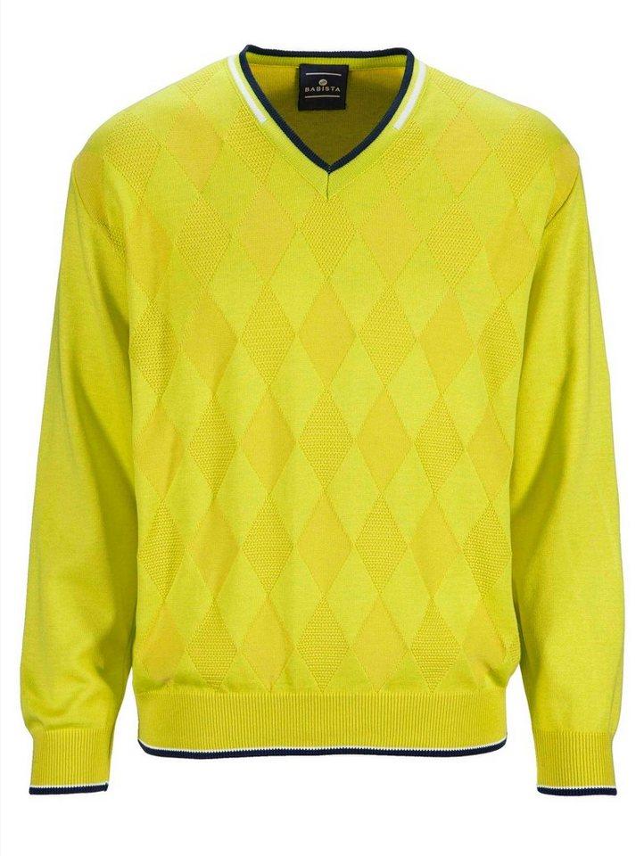 Babista Pullover in gelb
