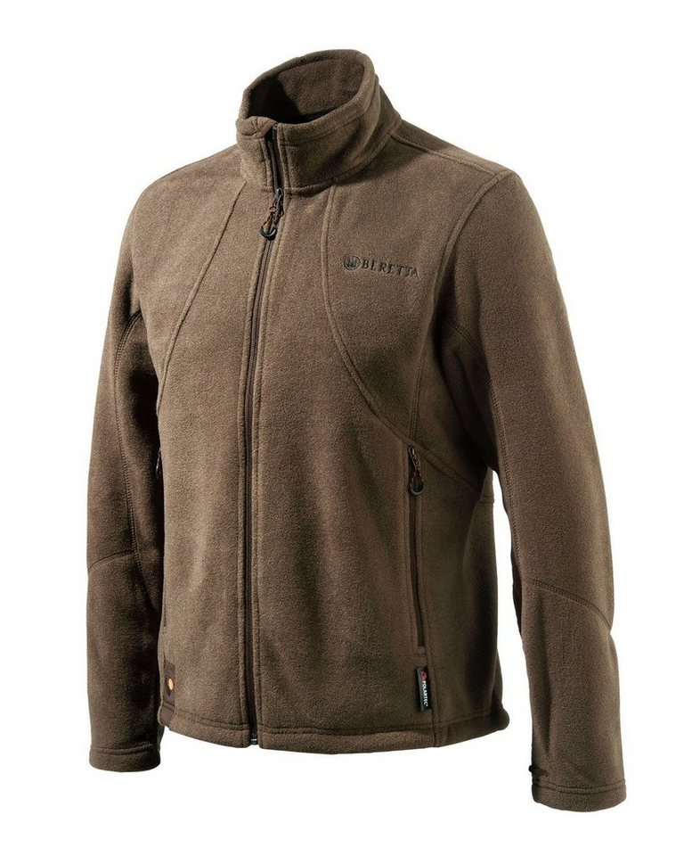 Beretta Fleecejacke in Braun