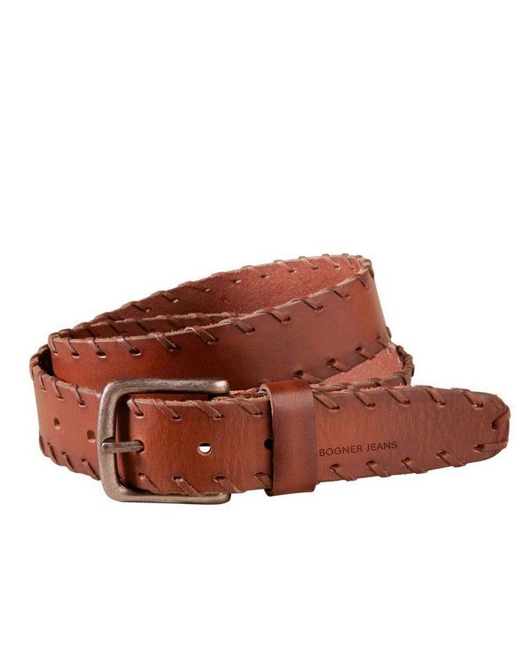 Bogner Jeans Gürtel in Braun