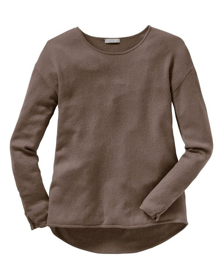 In Linea Cashmere Pullover in Karamell