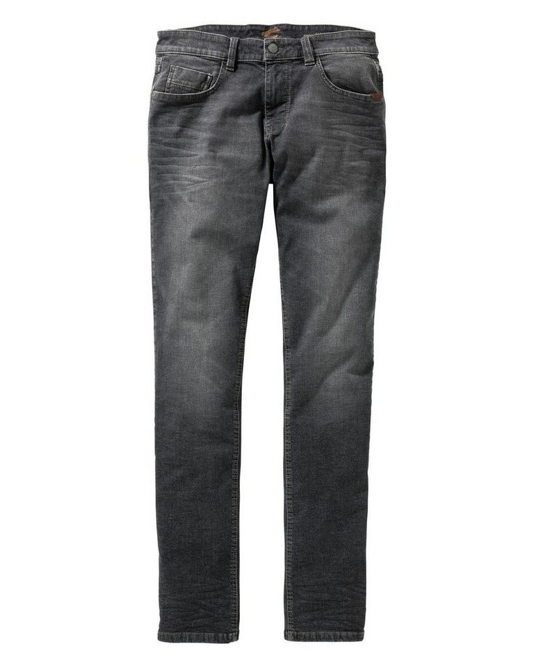 camel active 5-Pocket Jeans Madison in Anthrazit