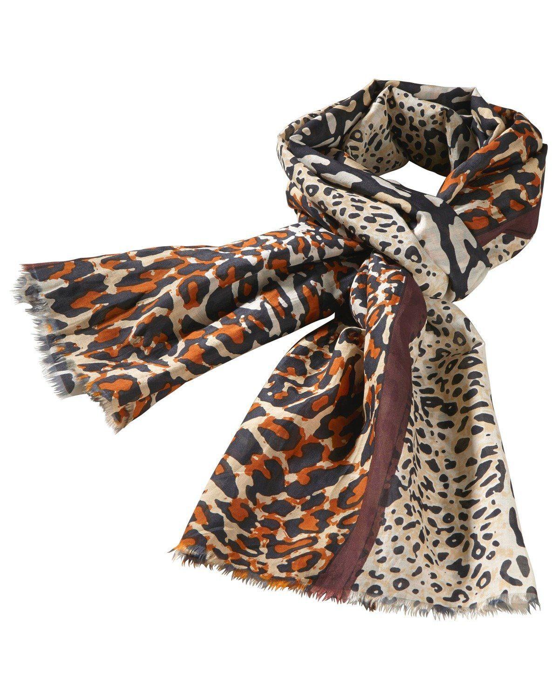 Passigatti Schal, Leoparden-Muster