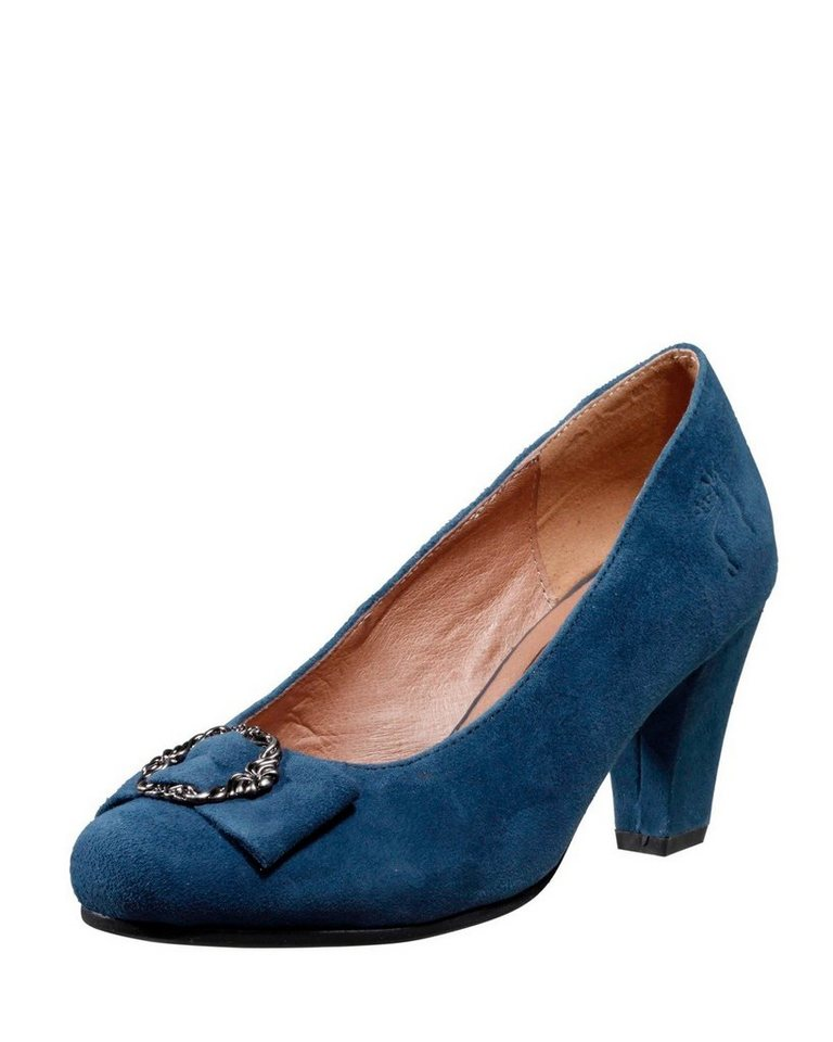 Hirschkogel Pumps in Blau