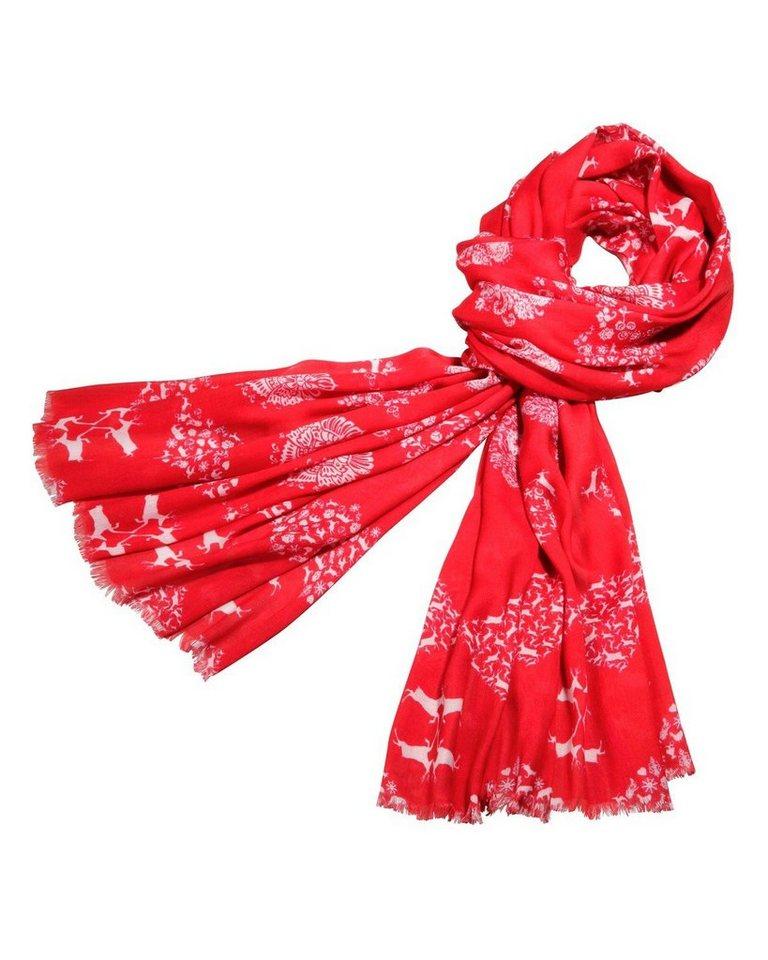 Reitmayer Schal in Rot